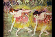 Ballet Dancers III by Edgar Degas