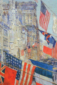 Day of Allied Victory, 1917 by Hassam