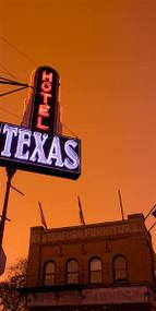 Hotel Texas at Dusk