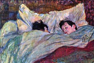 Sleeping by Toulouse-Lautrec