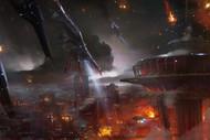 Mass Effect Wall Graphics: Seattle