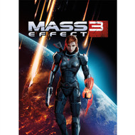 Mass Effect Wall Graphics: Commander Jane Shepard Cover Art