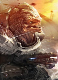 Mass Effect Wall Graphics: Grunt