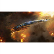 Mass Effect Wall Graphics: Normandy Escape