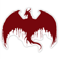 Dragon Age Wall Graphics: Dragon Silhouette