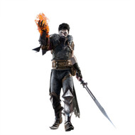 Dragon Age Wall Graphics: Hero with Fire