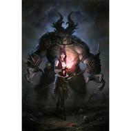 Dragon Age Wall Graphics: Morrigan Ogre