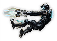 Dead Space Wall Graphics: Isaac Floating II Cutout Wall Graphics