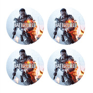 Battlefield 4: Circle Wall Graphics (Set of Four 6 inch)
