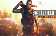 Battlefield Hardline Horizontal Wall Graphic