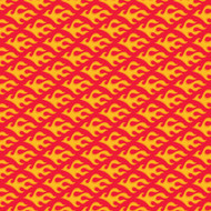 Caleb Gray Studio: Fast Flames Wall Tile