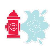Caleb Gray Studio: Fire Hydrant Water