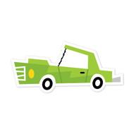 Caleb Gray Studio: Green Car