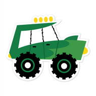 Caleb Gray Studio: Green Truck