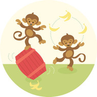 Caleb Gray Studio: Monkey Tricks