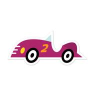 Caleb Gray Studio: Purple Race Car