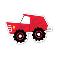 Caleb Gray Studio: Red Flame Truck