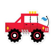 Caleb Gray Studio: Red Truck