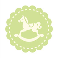 Caleb Gray Studio: Rocking Horse Badge