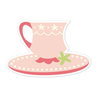 Caleb Gray Studio: Teacup & Saucer