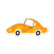 Caleb Gray Studio: Yellow Flame Car
