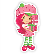 Strawberry Shortcake with Present