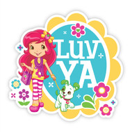 Strawberry Shortcake Love Ya Wall Badges
