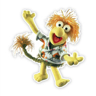 Fraggle Rock Wembley Wave Wall Cut Out