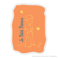 Le Petit Prince Wall Graphic Orange