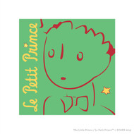 Le Petit Prince Wall Square Green