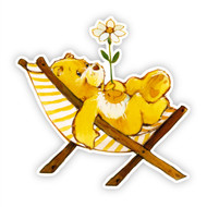Care Bears Funshine Bear Chair
