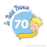 Le Petit Prince 70th Anniversary Wall Badge