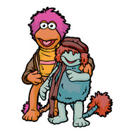 Fraggle Rock Gobo & Boober Wall Cutout