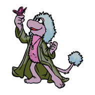 Fraggle Rock Mokey Butterfly (Animated Series)