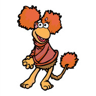 Fraggle Rock Red Smiling Cutout