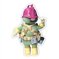 Fraggle Rock Doozer Wall Cutout