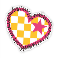 Fraggle Rock Heart Wall Badge