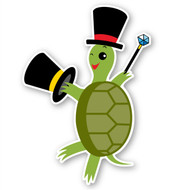 Paddleduck Wall Decals: Tyler Turtle