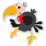 Paddleduck Wall Decals: Vicky Vulture