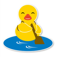 Paddleduck Wall Decals: Paddle Duck Smile