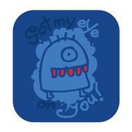 Doodle Jump Wall Badge: Eye on You