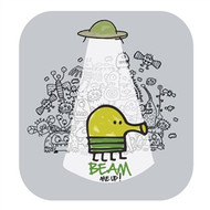 Doodle Jump Wall Badge: Beam Me Up!