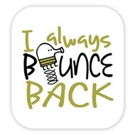 Doodle Jump Wall Badge: Bounce Back