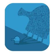 Doodle Jump Wall Badge: Doodle Shadow