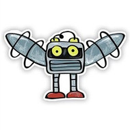 Space Monster Robot (Wings)