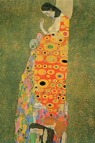 Abandoned Hope by Gustav Klimt