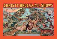 Christy Bros 5 Ring Wild Animal Shows