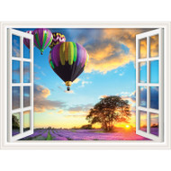 Window Views Hot Air Balloons