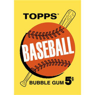 Topps: Baseball Bubble Gum 5c 1963