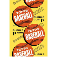 Topps: Baseball Bubble Gum 1c 1963